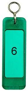 Hotelschlüsselanhänger 90 mm grün