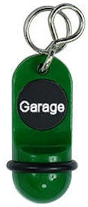 Hotelschlüsselanhänger 60 mm grün